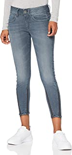 G-STAR RAW Lynn 2-Zip Mid Waist Skinny Ankle Vaqueros Mujer