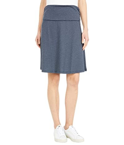 Toad&Co Chaka Skirt (Nightsky Houndstooth Print) Women