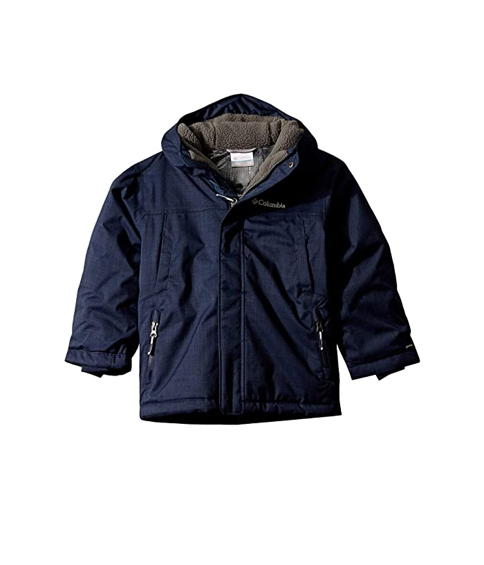 Waterproof /& Breathable Columbia Baby-Girls Youth Boys Rain Scape Jacket Extended Fit