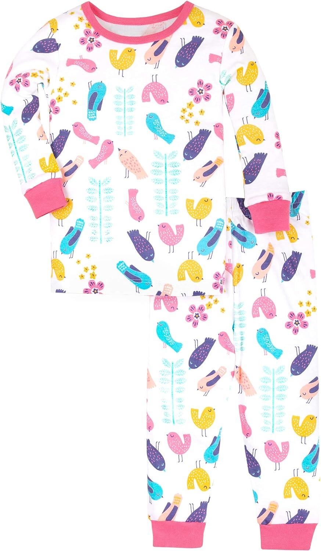 Lamaze Organic Baby Organic Baby/Toddler Girl, Boy, Unisex Tight Fit Pajamas Set