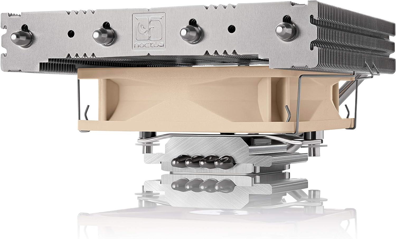Noctua NH-L12 Ghost S1 Edition, Disipador de CPU y Bajo Perfil con Ventilador PWM de 92 mm (Marrón)