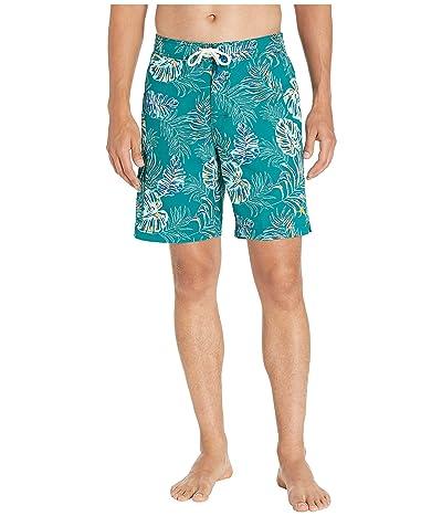 Tommy Bahama Baja Canyon Leaves Swim Shorts (Quetzal Green) Men
