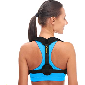Andego Back Posture Corrector for Women & Men - Effective and Comfortable Posture Brace for Slouching & Hunching - Discreet Design - Clavicle Support…