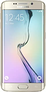 Samsung Galaxy S6 Edge - Smartphone libre Android (pantalla 5.1 cámara 16 Mp 32 GB Quad-Core 2.1 GHz 3 GB RAM) dorado