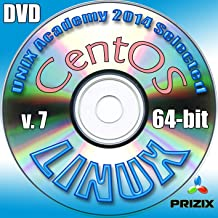 Centos 7 Linux DVD 64-bit Full Installation Includes Complimentary UNIX Academy Evaluation Exam