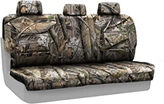 Coverking Rear Solid Bench Custom Fit Seat Cover for Select RAM 1500 Models - Neosupreme (Realtree AP Camo Solid)