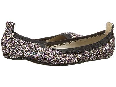 Yosi Samra Kids Limited Edition Miss Samara (Toddler/Little Kid/Big Kid) (Rainbow Chunky Glitter) Girls Shoes