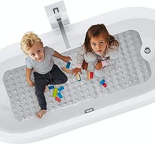 riijk Badewannenmatte rutschfest XXL 100×40 cm | Antirutschmatte Badewanne |..
