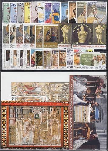 Goldhahn Vatikan 2013 postfrisch  Nr. 1757-1793 Block 40-42 Briefmarken für Sammler