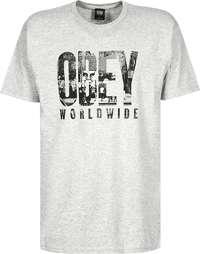 Camiseta Hombre Obey OG NY Obey Camiseta