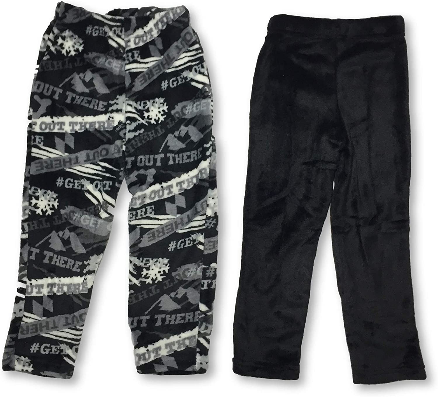 Butter Pile Lazy Day Boy's Pants Set of 2 (X-Small 5/6) Black