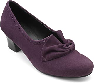Hotter Women's Donna Slip On Formal Heeled Shoe
