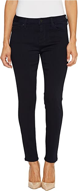 Petite Penny Ankle Skinny on Premium Super Stretch Denim in Indigo Rinse