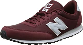 Unisex Adults' Low-Top, Red (Burgundy), 7 UK