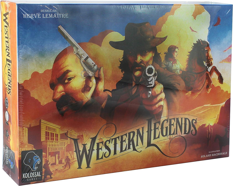 Kolossal Games  Western Legends Board Game - English