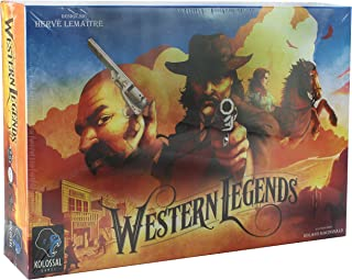 Western Legends (Board Game)