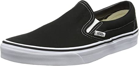 Vans Men's Slip-On(tm) Core Classics, Black Shoe White Sole, US:11