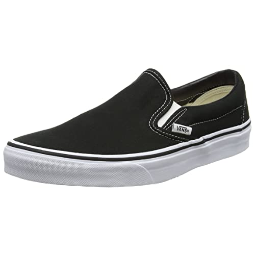 3afd47537b Vans Unisex Adults  Classic Slip-on Canvas Trainers