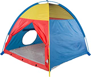 """Pacific Play Tents Kids 'Me Too' Dome Tent for Indoor/Outdoor Fun - 48"""" x 48"""" x 42"""", Multicolor"""