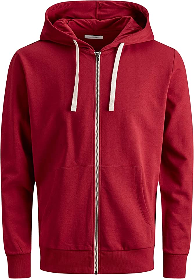 Men's Jjeholmen Sweat Zip Hood Noos Jacket