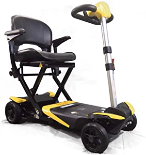 Transformer Electric Folding Mobility Scooter (Yellow) by Solax