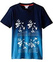 Little Marc Jacobs - Jersey Tee Shirt Dip Dye (Little Kids/Big Kids)