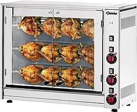 Rôtissoire poulet électrique // broches pour 12 poulets