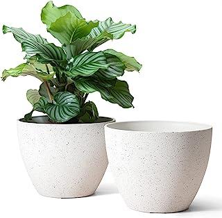 Flower Pots Outdoor Indoor Planter - 11.3 inch