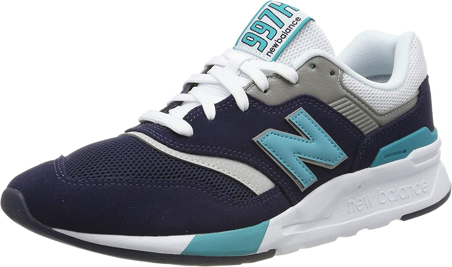 New Balance Men's 997 Suede Trainers, bluee