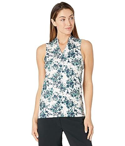 PUMA Golf Cloudspun Floral Tie-Dye Sleeveless Polo