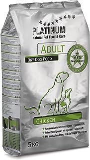 プラチナム ナチュラル ドッグフード チキン 5kg グルテンフリー 成犬(一歳以上) 全犬種用 無水調理ドライフード