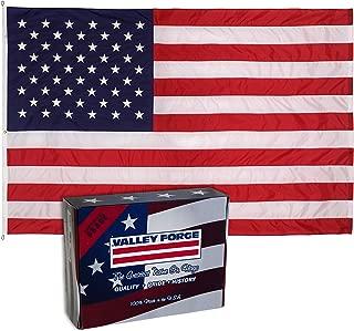 PERMA-NYL 19221000 American Flag, 10'x19', Red,White,Blue