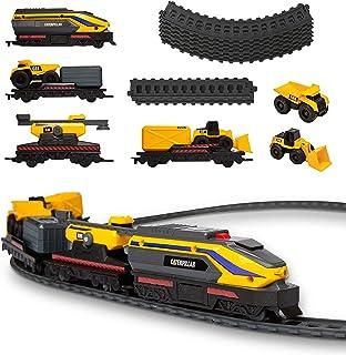 Catterpillar Funrise CAT Little Machine Power Truck Train Set, 82949, Multi
