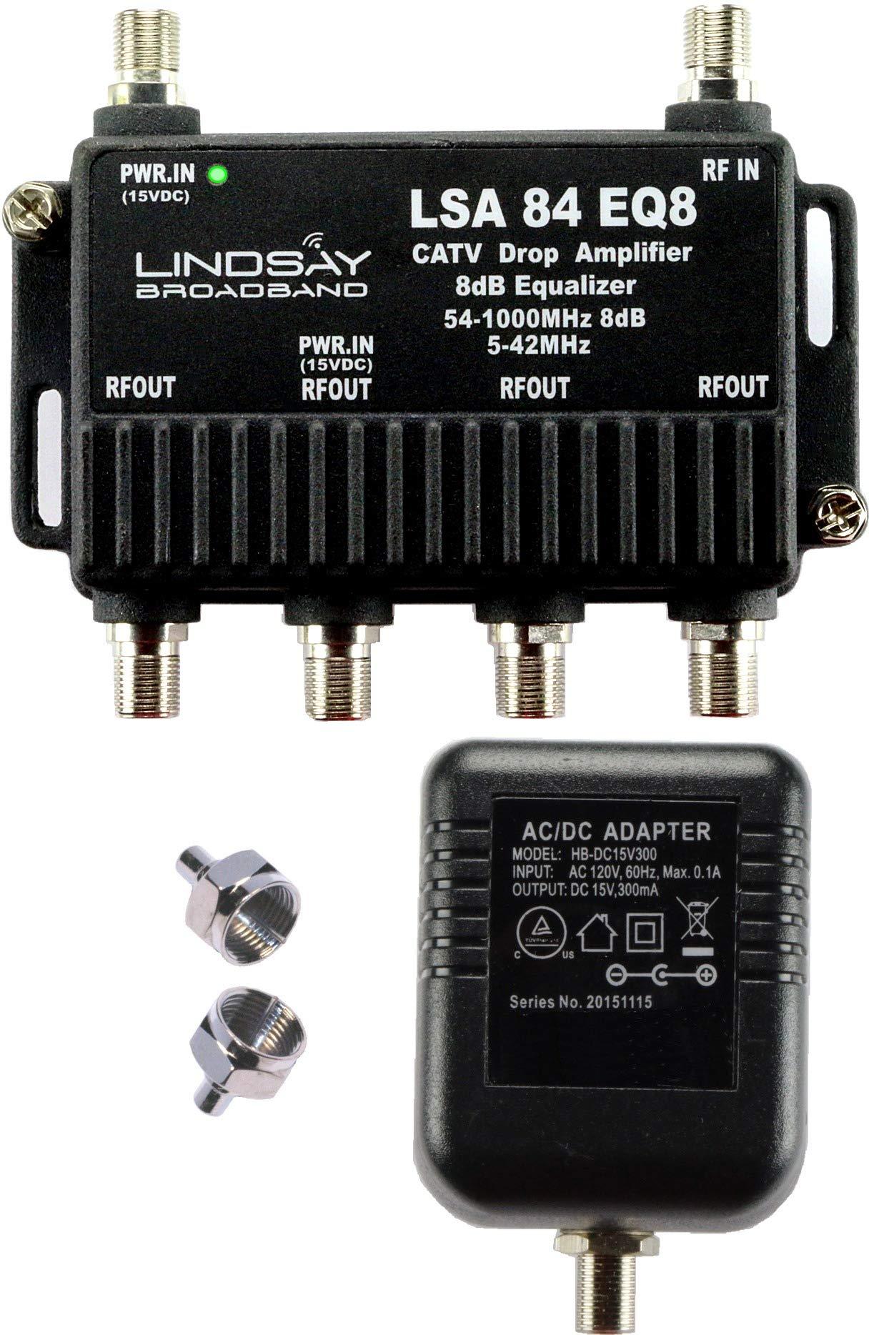 Cable Amplifier Equalizer Terminators LSA84 EQ8