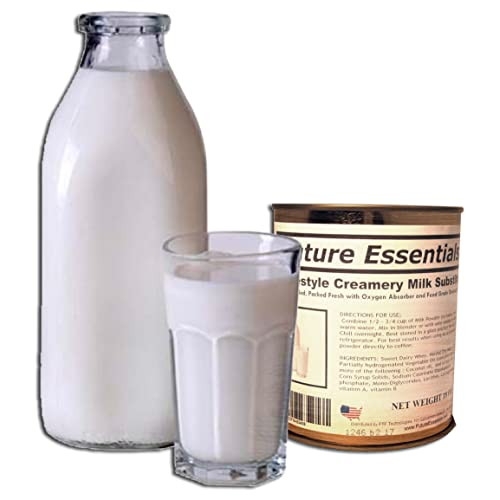 1 Can of Future Essentials Canned Powdered Homestyle Creamery Milk Substitute