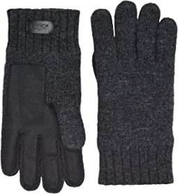 Knit & Conductive Leather Gloves