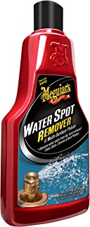 Meguiar's Water Spot Remover – Water Stain Remover and Polish for All Hard Surfaces – A3714, 16 oz