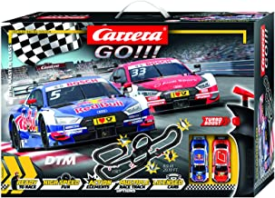 Carrera GO 62480 DTM Master Class Electric Powered Slot Car Racing Kids Toy Race Track..