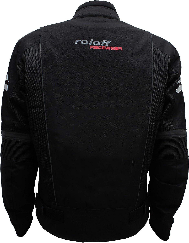 Roleff Racewear Mesh Blouson Ro 613 Schwarz Größe Xxxl Auto