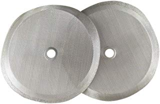 Barista Warrior Replacement Filters for French Press- Stainless Steel Filter Mesh - Pack of 2