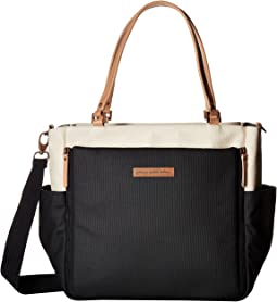 Glazed Color Block City Carryall