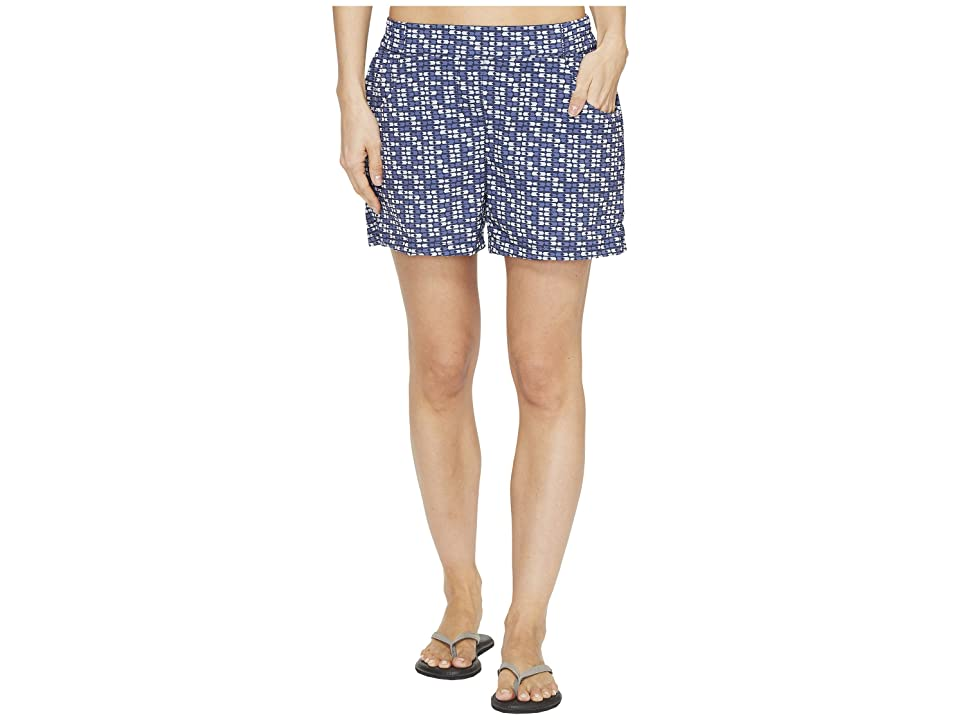 Toad&Co Jetlite Shorts (Deep Navy Flag Print) Women