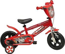 Disney 13163 Cars Cromo Bicicletas con Freno, de 10 Pulgadas