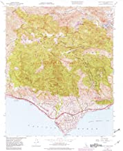 YellowMaps Point Dume CA topo map, 1:24000 Scale, 7.5 X 7.5 Minute, Historical, 1950, Updated 1982, 26.8 x 22 in