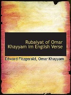 Rubaiyat of Omar Khayyam im English Verse