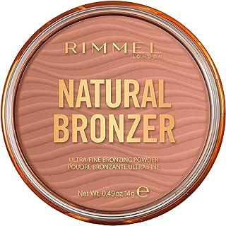 Rimmel London Natural Bronzing Powder Bronzer - 001 Sunlight