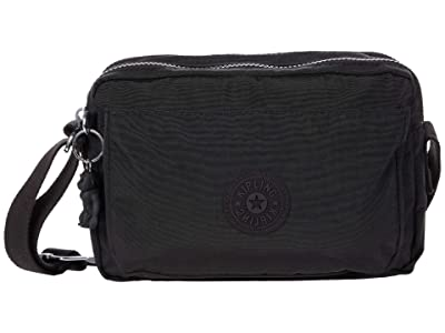 Kipling Abanu M (Black Noir) Handbags