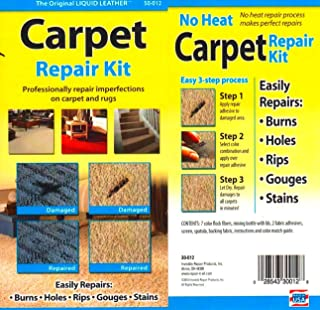 Carpet Repair Kit. Repair Burns and Other Damage on Your Auto, Home, Office Carpet Do It Yourself and Save Money