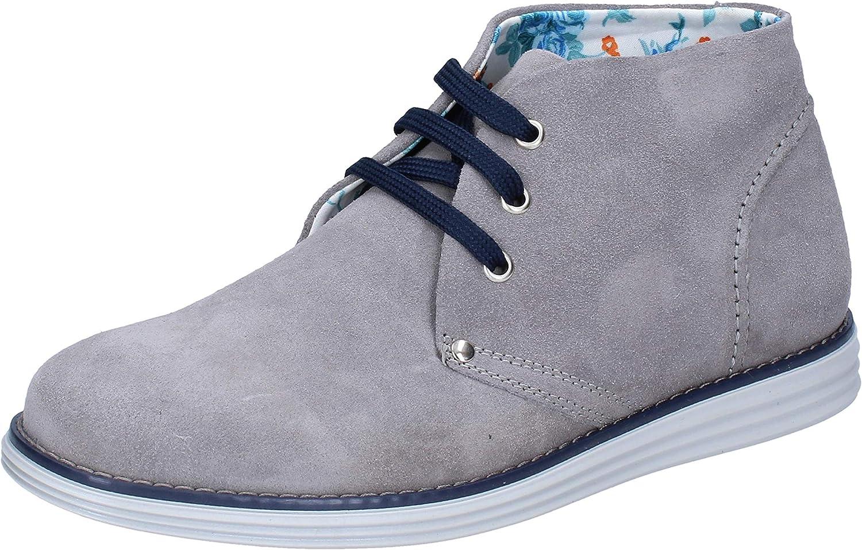 AT. AT. P. CO. Desert Stiefel Damen Wildleder grau  Marken online billig verkaufen