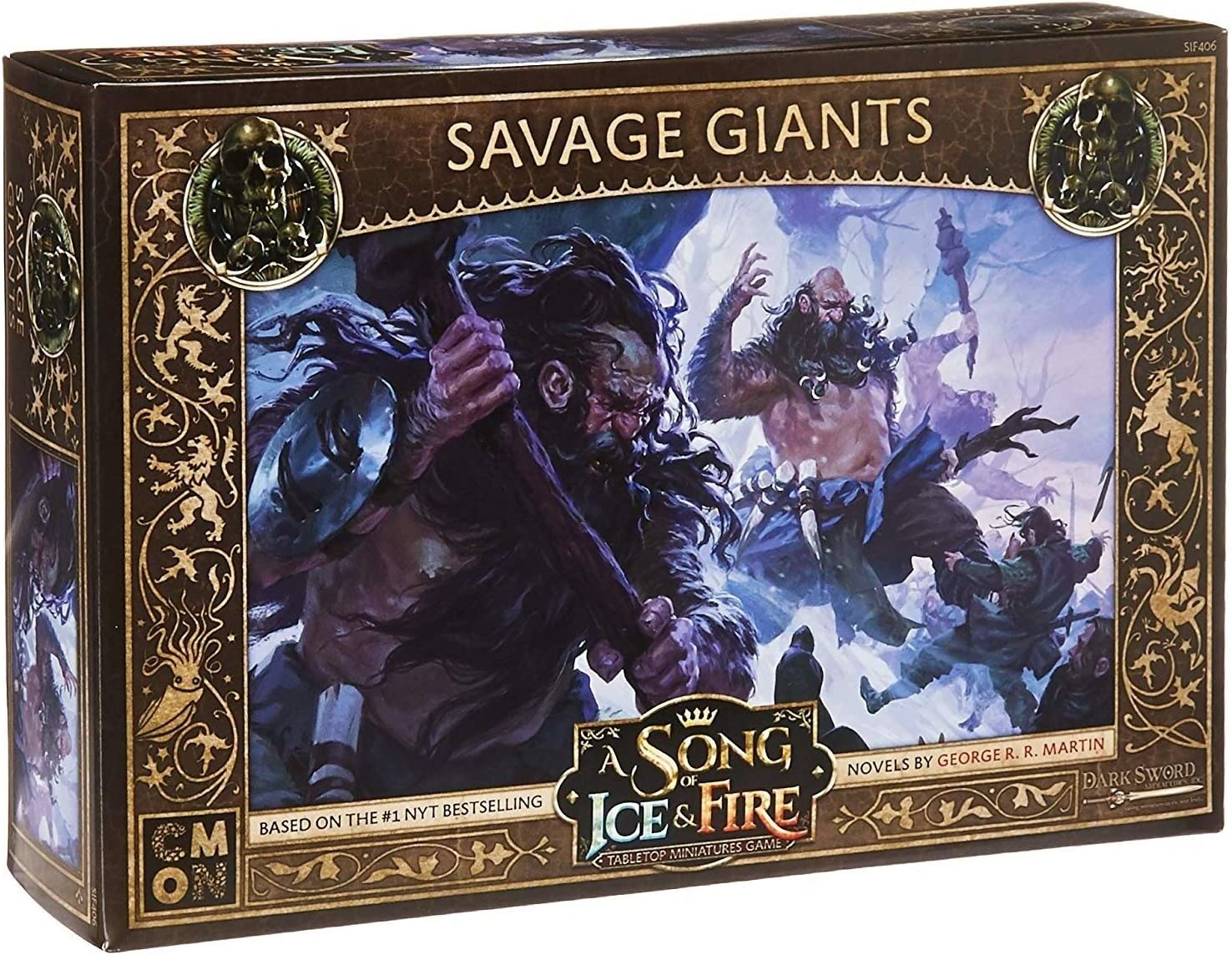 New color MISC Cmon A Song of Ice Fire: Tabletop - Fo gift Game Miniatures Free